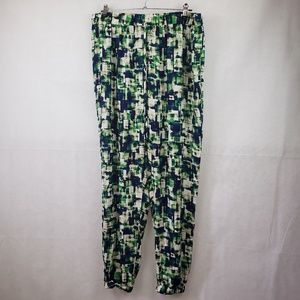 🔴SALE🔴 Forever 21 Plus Size Green Blue Pants 1X